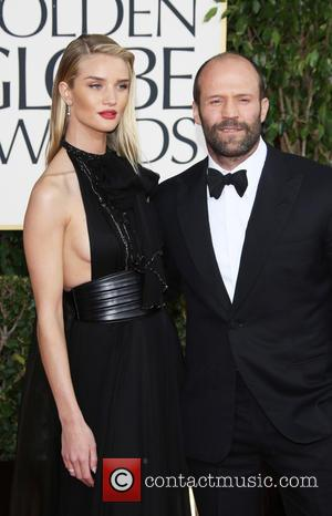 Jason Statham; model Rosie Huntington-Whiteley 70th Annual Golden Globe Awards held at the Beverly Hilton Hotel - Arrivals  Featuring:...