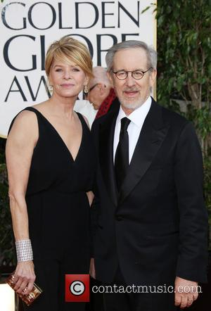 Steven Spielberg; actress Kate Capshaw 70th Annual Golden Globe Awards held at the Beverly Hilton Hotel - Arrivals  Featuring:...