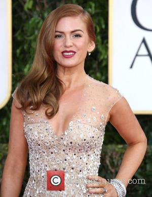 Isla Fisher and Beverly Hilton Hotel