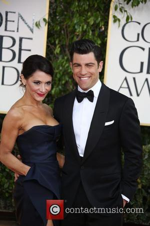 Max Greenfield, Tess Sanchez and Beverly Hilton Hotel