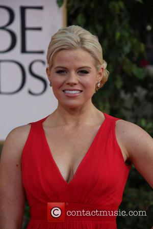 Megan Hilty and Beverly Hilton Hotel