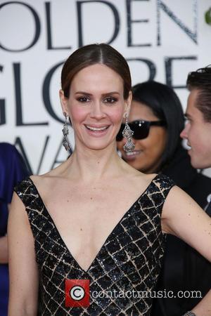 Sarah Paulson 70th Annual Golden Globe Awards held at the Beverly Hilton Hotel - Arrivals  Featuring: Sarah Paulson Where:...