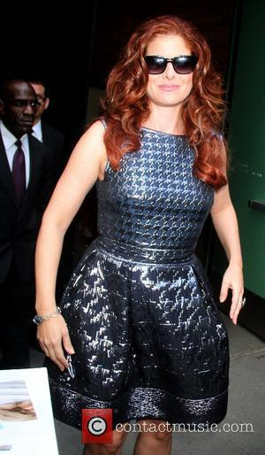 Debra Messing outside the ABC studios for 'Good Afternoon America' New York City, USA - 22.08.12