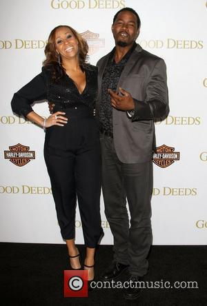 Kiki Haynes and Michael Jai White Lionsgate's Good Deeds Premiere held at Regal Cinemas L.A. Live Los Angeles, California -...