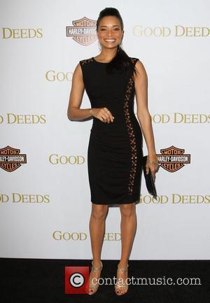 Rochelle Aytes Lionsgate's Good Deeds Premiere held at Regal Cinemas L.A. Live Los Angeles, California - 14.02.12