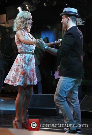 Katherine Jenkins, Dancing With The Stars, Mark Ballas and Good Morning America