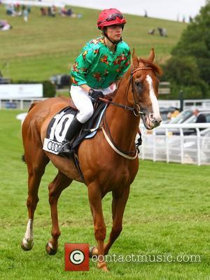 Sara Cox competes in the Magnolia Cup at Glorious Goodwood held at Goodwood Racecourse Chichester, England - 02.08.12