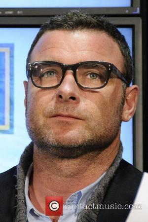 Liev Schreiber  cast member from 'Goon' appears at Real Sports Apparel to promote their upcoming movie.  Toronto, Canada...