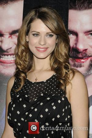 Lyndsy Fonseca  GOON premiere arrival at the Scotiabank Theatre.  Toronto, Canada - 22.02.12