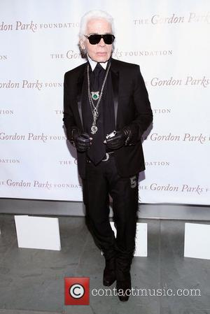 Karl Lagerfeld the Gordon Parks Centennial Gala at the Museum of Modern Art New York City, USA - 05.06.12