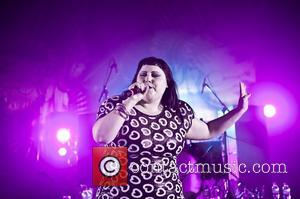 Beth Ditto of Gossip performing live at the Shepherds Bush Empire London, England - 05.07.12