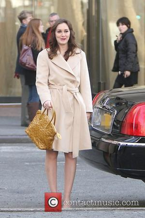 Leighton Meester 'Gossip Girl' shooting on location in Manhattan New York City,USA - 05.03.12