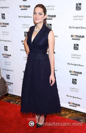 Marion Cotillard, Gotham Awards 2012