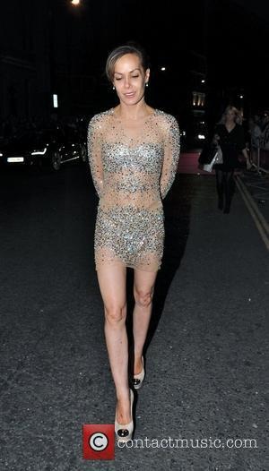 Tara Palmer-Tomkinson cuts a lonely figure as she is turned away from The GQ Men of the Year Awards 2012...