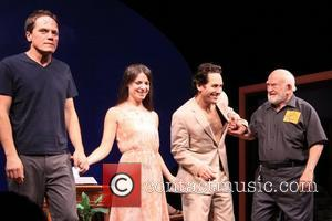 Michael Shannon, Kate Arrington, Paul Rudd and Edward Asner Broadway opening night of 'Grace' held at the Cort Theatre -...