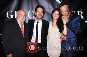 Edward Asner, Paul Rudd, Kate Arrington and Michael Shannon Broadway opening night of 'Grace' held at the Cort Theatre -...