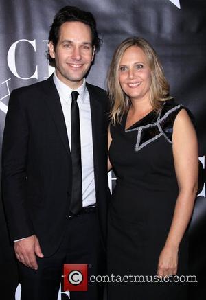 Paul Rudd and Julie Yaeger Rudd