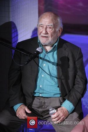 Ed Asner  Press Conference for the Broadway play 'Grace', held at the Grace Hotel.  New York City, USA...
