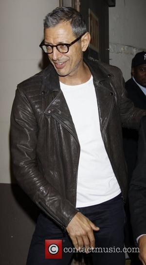 Jeff Goldblum  attending the first preview performance of the Broadway play 'Grace' at the Cort Theatre New York City,...