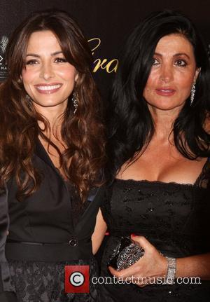 Sarah Shahi and her mother The 37th Annual Gracie Awards Gala at Beverly Hilton Hotel  Los Angeles, California, USA...