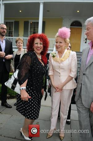 Bette Midler  2012 Doris C. Freedman Award Ceremony at Gracie Mansion  New York City, USA - 16.05.12