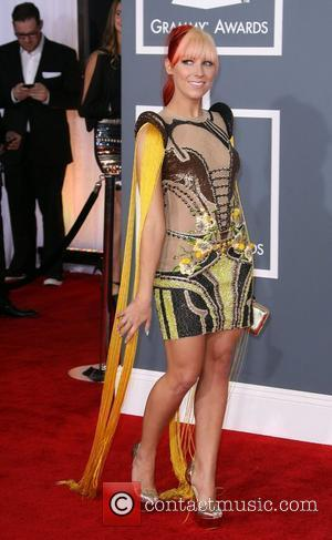 Bonnie McKee 54th Annual GRAMMY Awards - 2012 Arrivals held at the Staples Center Los Angeles, California - 12.02.12