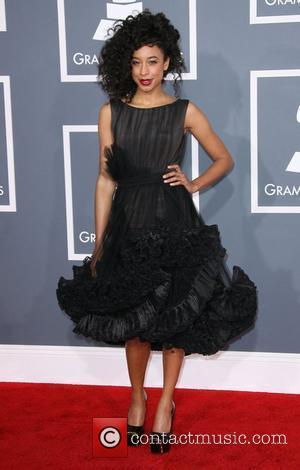 Corinne Bailey Rae 54th Annual GRAMMY Awards - 2012 Arrivals held at the Staples Center Los Angeles, California - 12.02.12