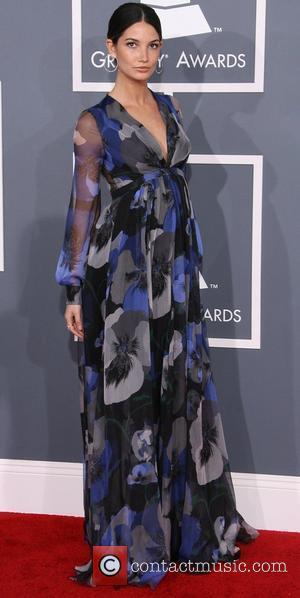 Lily Aldridge and Grammy