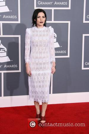 Skylar Grey 54th Annual GRAMMY Awards (The Grammys) - 2012 Arrivals held at the Staples Center Los Angeles, California -...