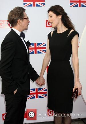 Gary Oldman and Alexandra Edenborough  GREAT British Film Reception to honor the British nominees of The 84th Annual Academy...