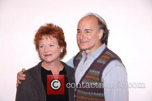 Becky Ann Baker and Peter Friedman