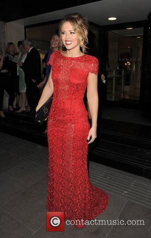 Kimberley Walsh and Grosvenor House Hotel