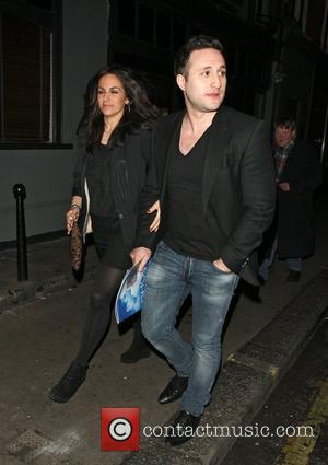 Anthony Costa leaving the Groucho Club London, England - 15.02.12