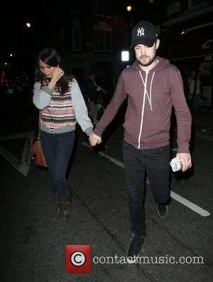 Jack Whitehall and Gemma Chan outside the Groucho club in Soho London, England - 27.09.12