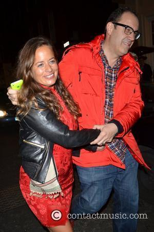 Jade Jagger Celebrities leaving the Groucho club after attending an event for the Teenage Cancer Trust London, England - 03.05.12