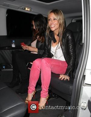 Nicole Appleton leaving the Groucho club after hanging out with friends London, England - 15.06.12
