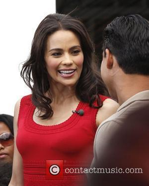 Paula Patton at The Grove to appear on the entertainment news show, 'Extra'  Los Angeles, California - 09.04.12