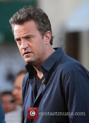 Matthew Perry Served Up Pain To Chevy Chase During Charity Tennis Match