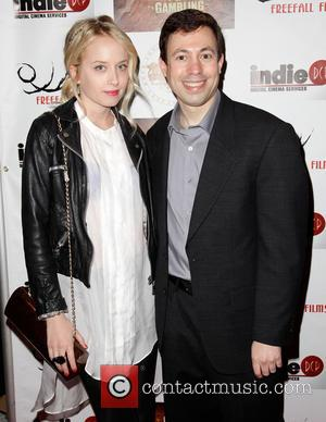 Megan Park and Michael Winnick