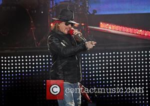 Axl Rose and Liverpool Echo Arena