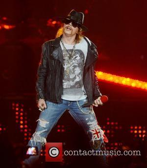 Axl Rose, Guns N Roses and O2 Arena