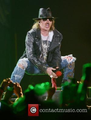 Axl Rose, Guns N Roses and O2 Arena