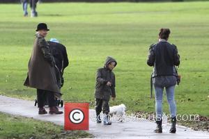 Gwen Stefani, Daisy Lowe and Kingston Rossdale