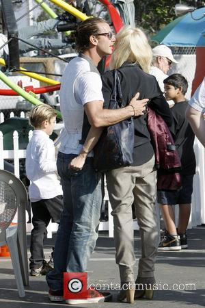 Gavin Rossdale, Gwen Stefani and Kingston Rossdale