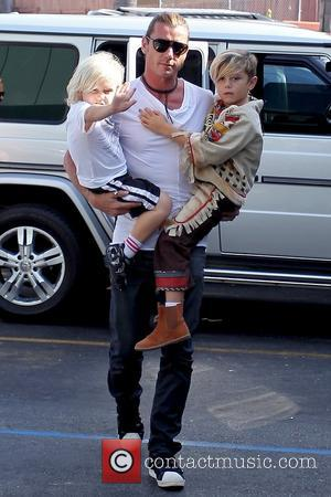 Gavin Rossdale, Zuma Rossdale and Kingston Rossdale