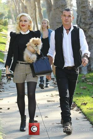 Gwen Stefani, Gavin Rossdale and Thanksgiving