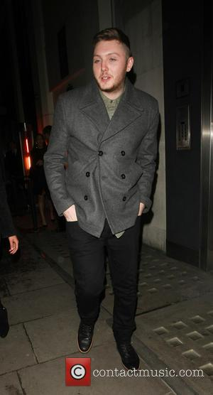 James Arthur and Kimberley Garner
