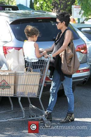 Halle Berry, Nahla and Bristol Farms