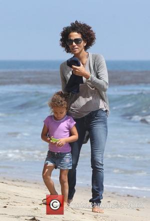 Halle Berry and Malibu Beach