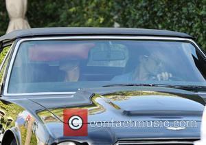 Halle Berry, Aston Martin and Olivier Martinez